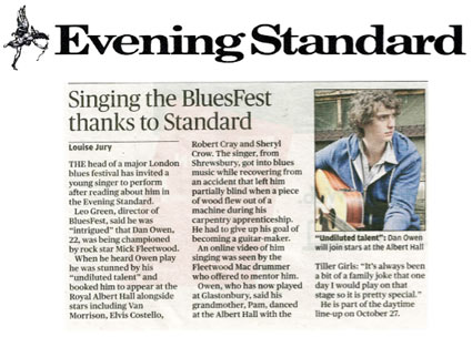 Dan Owen - Evening Standard